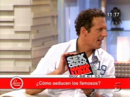 Mario Luna en verano con Ana Rosa 5