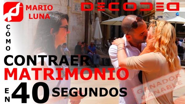 2013-06-19 CÓMO CONTRAER MATRIMONIO EN 40 SEGUNDOS